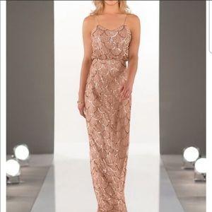 SORELLA Vita Rose gold Bridesmaid gown size 14